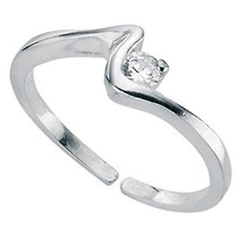 925 Silver Fashionable Adjustable Toe Ring
