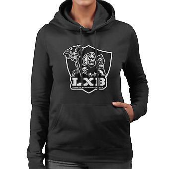 League of Extraordinary Badguys Masters Of The Universe Women's Hooded Sweatshirt