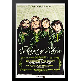Kings of Leon Signed Poster