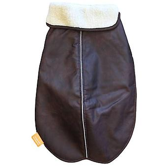 Alcott Dog Traveler Bomber Coat Brown Color (Dogs , Dog Clothes , Coats and capes)