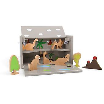Legler Wooden Box Dinosaurs (Toys , Preschool , Playsets , Stages)
