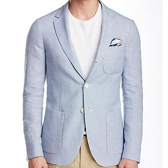 GANT Rugger 3/2 Roll Mens Blazer / Jacket - Light Blue