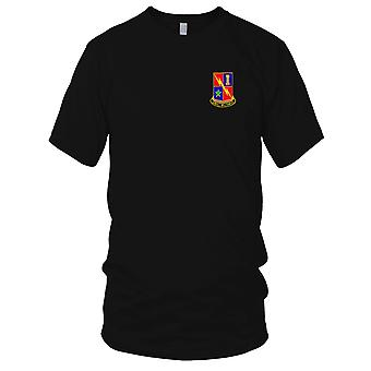 US Army - STB-69 broderad Patch - 1st Infantry Armor Division Mens T Shirt