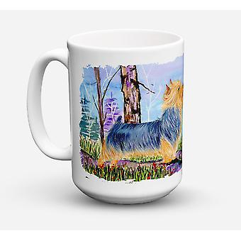 Norwich Terrier Dishwasher Safe Microwavable Ceramic Coffee Mug 15 ounce