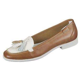 Zapatos de mujer universal de Pikolinos Copenhague Brandy Nata Leder W4Q3678