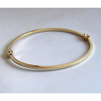 Желтое золото браслет