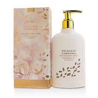 Thymes Goldleaf Gardenia Perfumed Body Cream 270ml/9.25oz