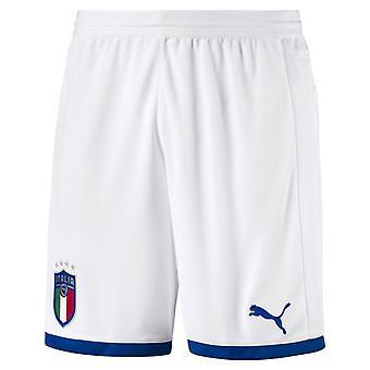 2018-2019 Italy Puma Home Shorts (White) - Kids