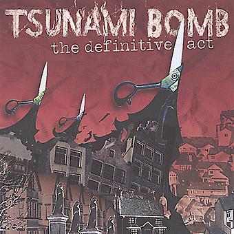 Tsunamien bombe - endelige Act [CD] USA importerer