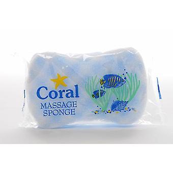 Korall Massage svamp