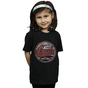Johnny Cash Girls Rock N Roll Circle T-Shirt