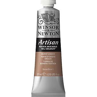 Winsor & Newton Artisan vatten Mixable Oil Colour 37ml (076 bränd Umbra S1)