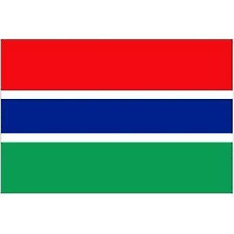 Gambischer Flagge 5 x 3 ft mit Ösen für hängende