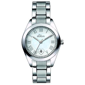 s.Oliver ladies wrist watch analog quartz SO-15084-MQR