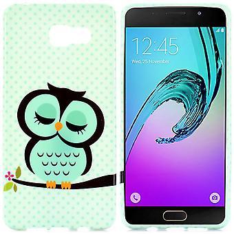 Silicone case motif 41 cover case for Samsung Galaxy A3 2016 A310F