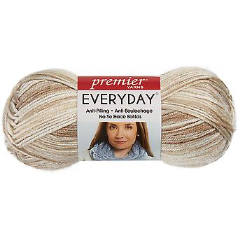 Deborah Norville Collection Everyday Print Yarn-Taupe