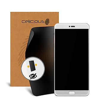 Celicious Privacy 2-Way Visual Black Out Screen Protector for Meizu Pro 7 Plus
