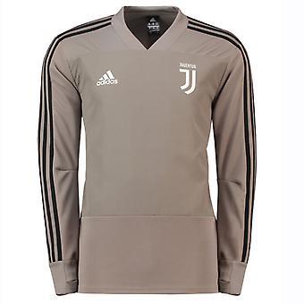 2018-2019 Juventus Adidas Training Top (Clay)