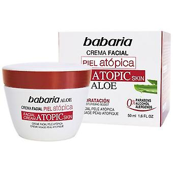 Babaria Face Cream With Aloe Vera For Atopic Skin 50 ml