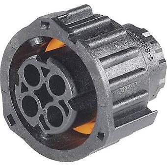TE Connectivity 968968-1-3 Bullet Connector Buchse, gerade Reihe (Anschlüsse): DIN 72585 Gesamtzahl der Stifte: 2 1 PC