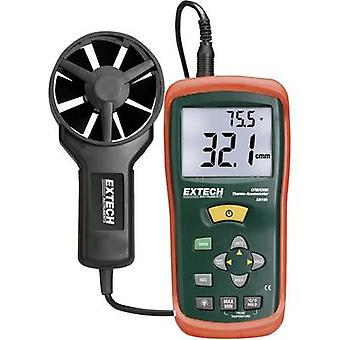 Extech AN100 Anemometer 0.4 up to 30 m/s Calibrated to Manufacturer's standards (no certificate)