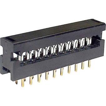 Edge connecteur (réceptacle) LPV 25 S6 nombre de broches 6 No. de lignes econ 2 connecter 1 PC (s)