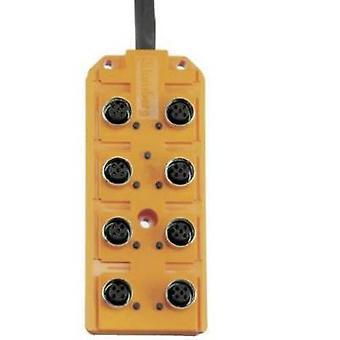 Capteur & actionneur boîte (passive) M12 splitter + acier fil ASB 8/LED 5-4-331/5 M 60603 Lumberg Automation 1 PC (s)