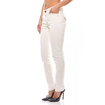 Trend jeans ladies slim fit travel Couture white