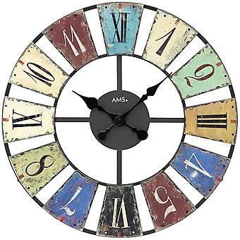 Настенные часы кварцевые настенные часы настенные часы кварцевые металлические разноцветные печатных