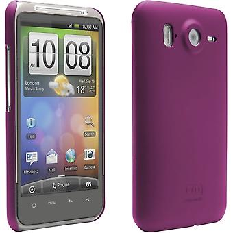Case-Mate - Barely There Case for HTC Inspire 4G Cell Phones - Rubber Pink