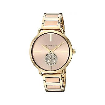 Michael Kors Watches Mk3706 Gold & Rose Gold Stainless Steel Ladies Watch