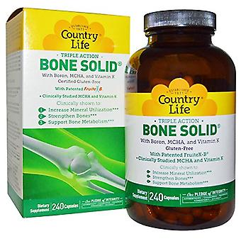 Country Life Bone Solid VCaps 240 Ct