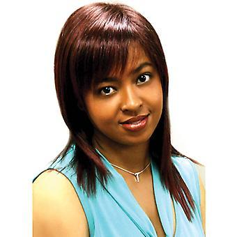 Fashion women medium straight E BRIA professional wig