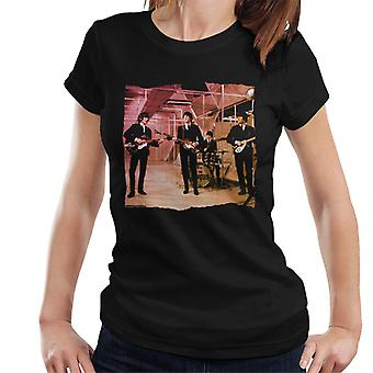 TV Times Beatles Lennon McCartney Show Performance Women's T-Shirt
