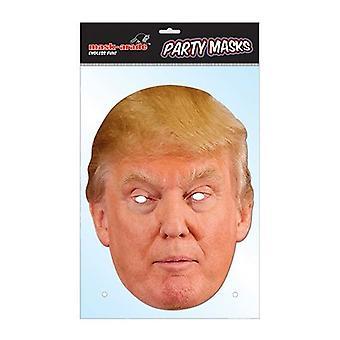 Máscara facial Bnov Donald Trump celebridade cartão