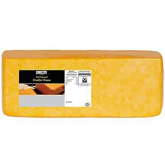 Land Auswahl milder farbige Cheddar-Käse