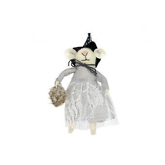 Gisela Graham Halloween heks muis