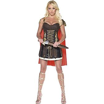Fever Gladiator Costume, UK Dress 8-10