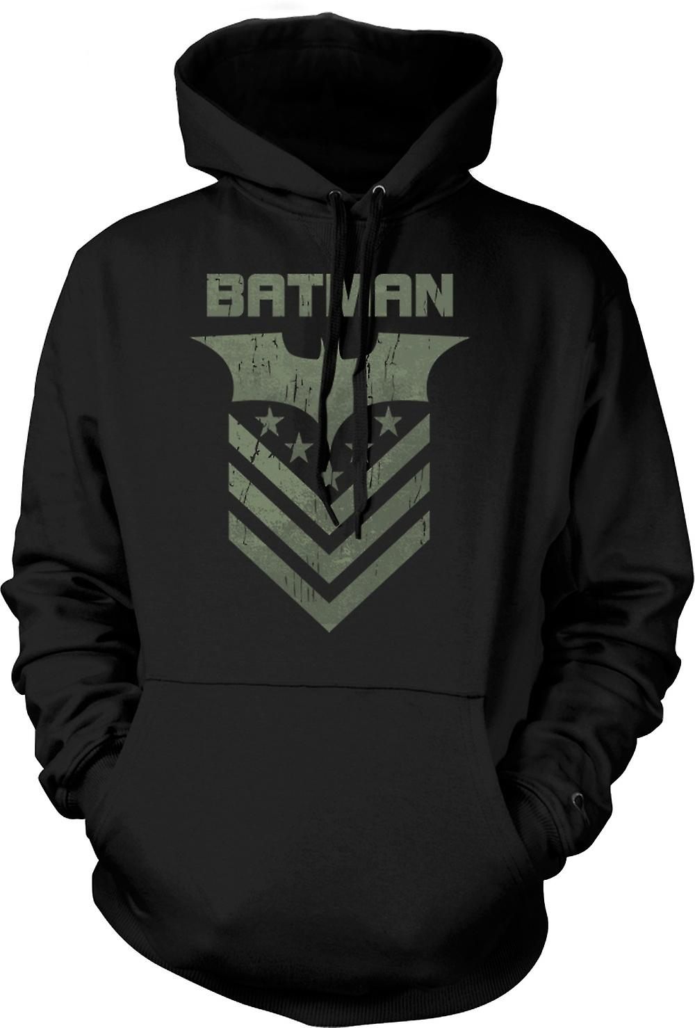 Mens Hoodie - Batman Dark Knight Stars And Stripes