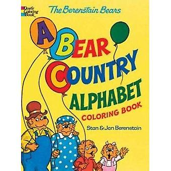 The Berenstain Bears -- A Bear Country Alphabet Coloring Book