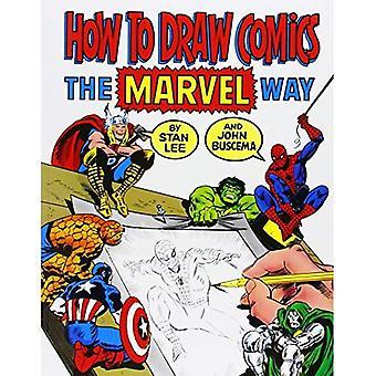 Come disegnare fumetti il modo di Marvel