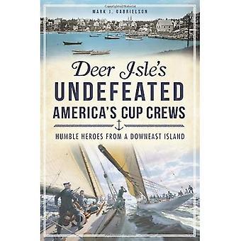 Deer Isle's Undefeated America's Cup Crews