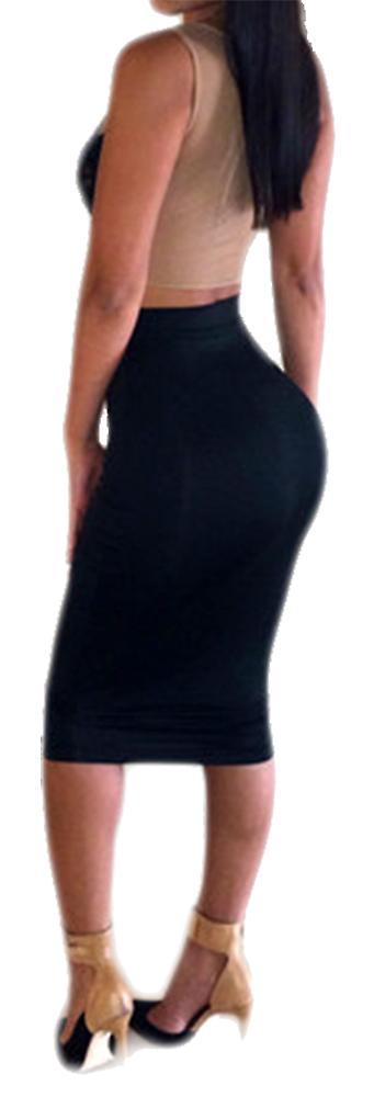 Waooh - Ensemble top et jupe taille haute Shol