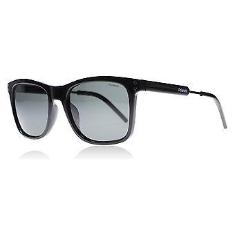 Polaroid 2034S CVS zwart Palladium 2034S Square zonnebril gepolariseerd Lens categorie 3 grootte 53mm