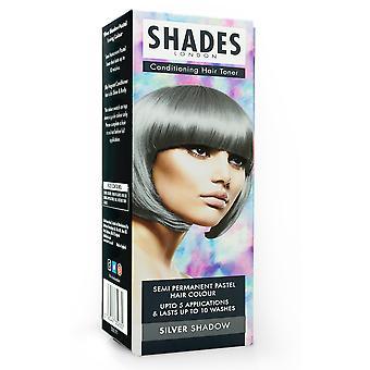 Shades London Pastel Hair Toner ~ Silver Shadow