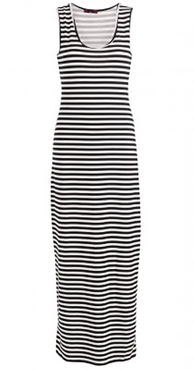 Waooh - long summer dress striped