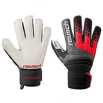 Reusch Prisma RG Finger Unterstützung Mens Torwart Torwart Handschuh schwarz/rot