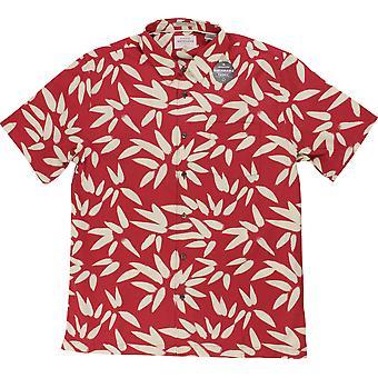 Quiksilver Mens Waterman Collection Odysea SS Shirt - Cardinal Red
