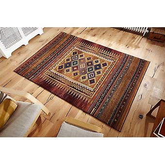 Gabbeh Gabbeh-107 A blend of rust, purple and green Rectangle Rugs Traditional Rugs