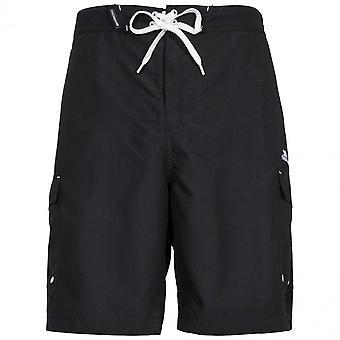 Trespass Mens Crucifer Quick Dry Board Swim Shorts